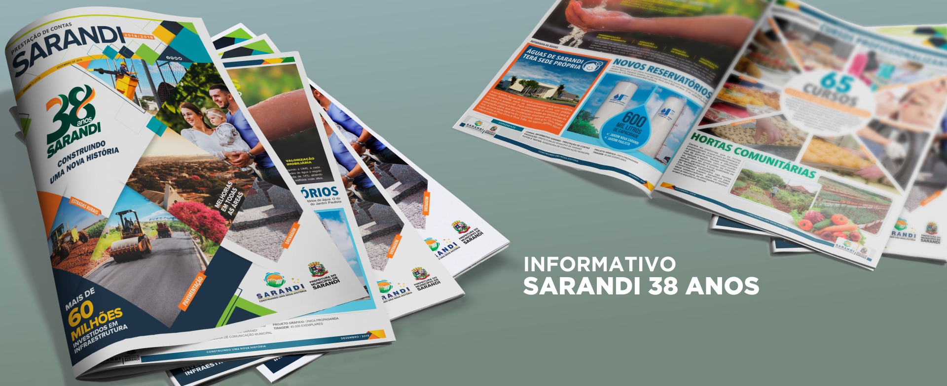 Informativo 38 anos Sarandi